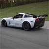 Speeding Chevrolet Corvette Z06X