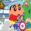 Crayon Shin-Chan Rides Bicycle