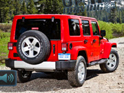 Uphill Jeep Driving
